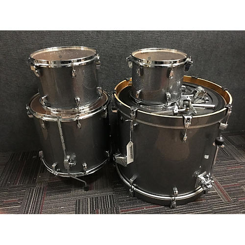 Tama Silverstar Drum Kit Silver Sparkle
