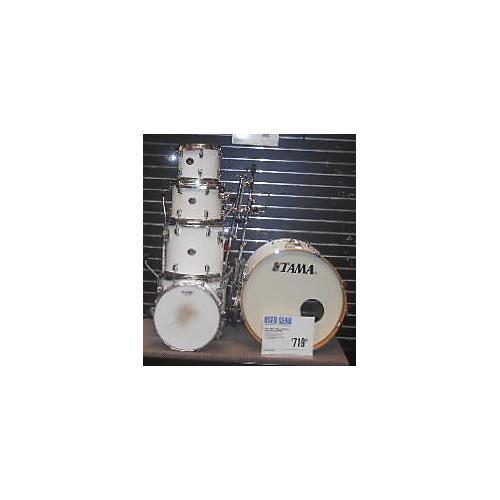 Tama Silverstar Drum Kit Alpine White