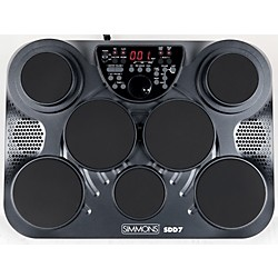Simmons SDD7 7-ZoneDigital Drum Pad (SDD7)