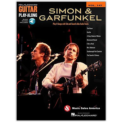 Hal Leonard Simon and Garfunkel Guitar Play-Along Volume 147 Book/Online Audio