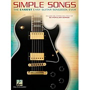 Hal Leonard Simple Songs - The Easiest Easy Guitar Songbook Ever