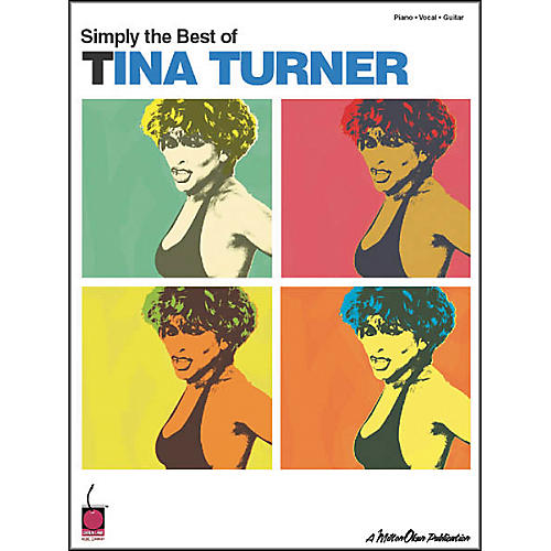 Cherry Lane Simply Best of Tina Turner Piano/Vocal/Guitar Artist Songbook-thumbnail