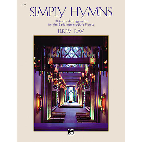 Alfred Simply Hymns Easy Piano-thumbnail