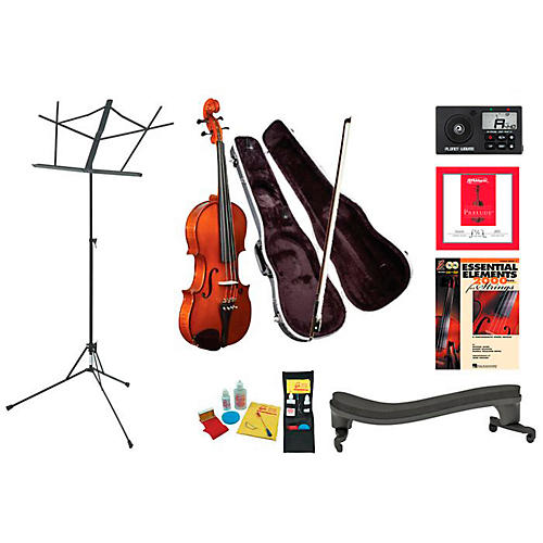 Knilling Sinfonia Beginner Student 4/4 Violin Bundle