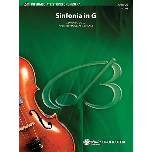 Alfred Sinfonia in G String Orchestra Grade 2.5