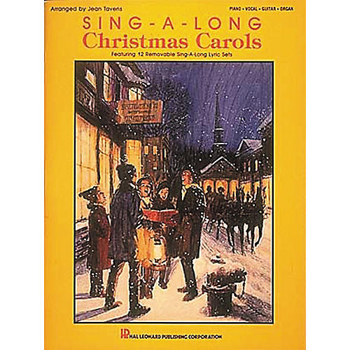 Hal Leonard Sing-A-Long Christmas Carols Piano, Vocal, Guitar Songbook-thumbnail