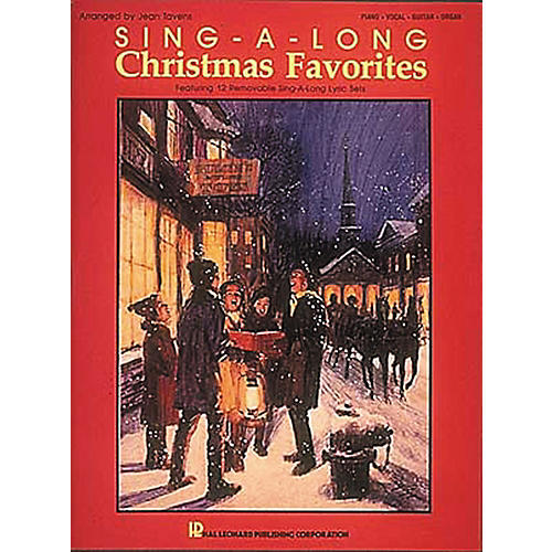 Hal Leonard Sing-A-Long Christmas Favorites Piano, Vocal, Guitar Songbook