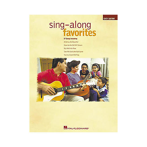 Hal Leonard Sing-Along Favorites Easy Guitar Book-thumbnail