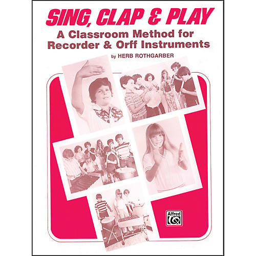 Alfred Sing Clap and Play Book-thumbnail
