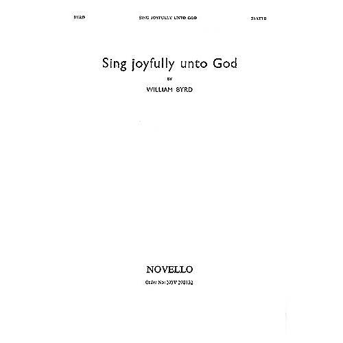 Novello Sing Joyfully unto God SSATTB Composed by William Byrd