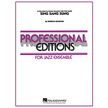 Hal Leonard Sing Sang Sung Jazz Band Level 5-6 Composed by Gordon Goodwin