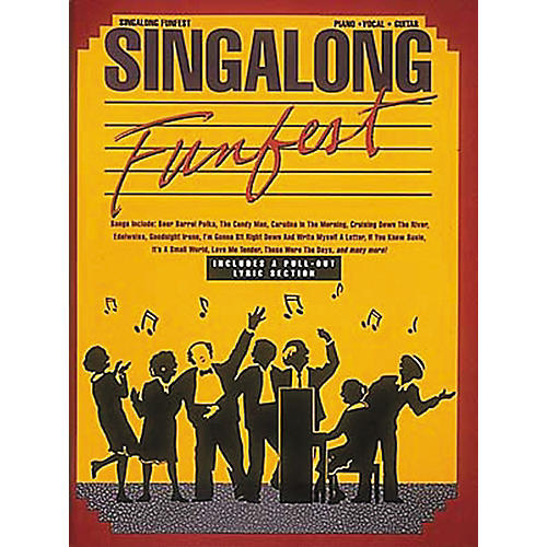 Hal Leonard Singalong Funfest Revised Piano, Vocal, Guitar Songbook-thumbnail