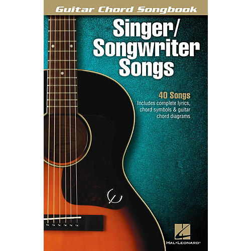 Hal Leonard Singer/Songwriter Songs - Guitar Chord Songbook