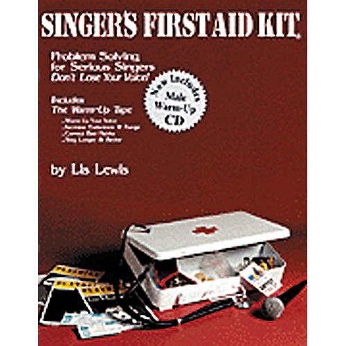 Hal Leonard Singer's First Aid Kit - Male Voice Book/CD-thumbnail