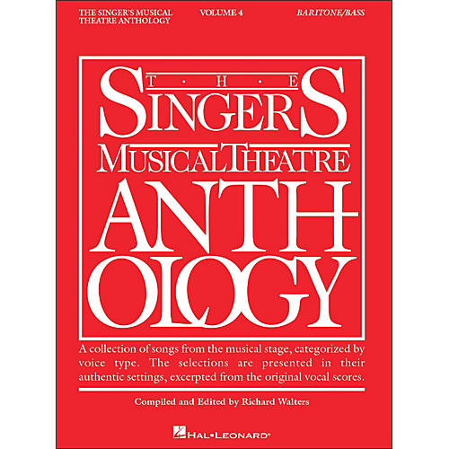 Hal Leonard Singer's Musical Theatre Anthology Baritone / Bass Volume 4-thumbnail