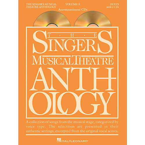 Hal Leonard Singer's Musical Theatre Anthology Duets Volume 3 Accompaniment CDs-thumbnail