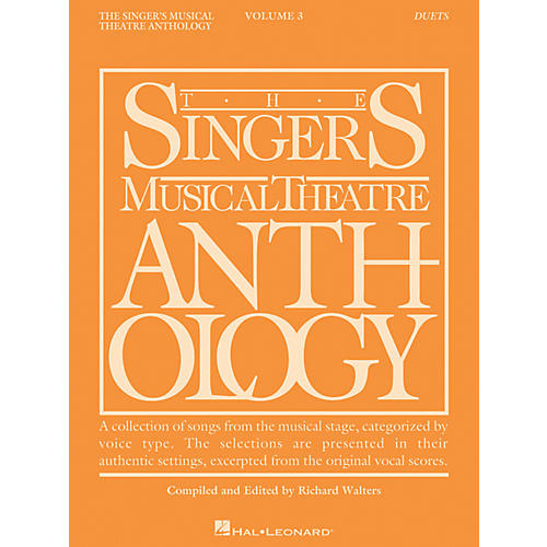 Hal Leonard Singer's Musical Theatre Anthology Duets Volume 3