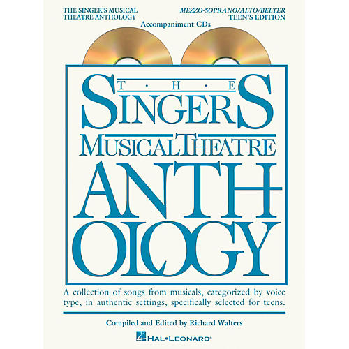 Hal Leonard Singer's Musical Theatre Anthology Teen's Edition Mezzo/Alto/Belter CD's Only-thumbnail