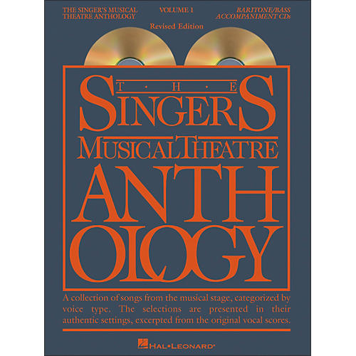 Hal Leonard Singer's Musical Theatre Anthology for Baritone / Bass Volume 1 2CD's-thumbnail
