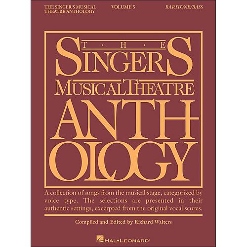 Hal Leonard Singer's Musical Theatre Anthology for Baritone / Bass Volume 5-thumbnail