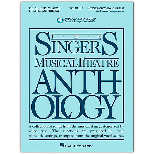 Hal Leonard Singer's Musical Theatre Anthology for Mezzo-Soprano / Belter Volume 2 Book/2CD's-thumbnail