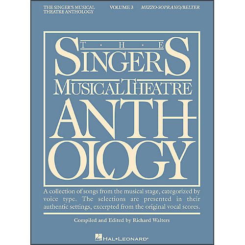 Hal Leonard Singer's Musical Theatre Anthology for Mezzo-Soprano / Belter Volume 3-thumbnail