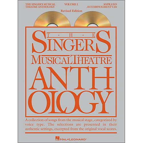 Hal Leonard Singer's Musical Theatre Anthology for Soprano Voice Volume 1 2CD Accompaniment