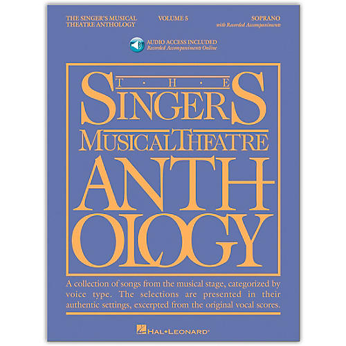 Hal Leonard Singer's Musical Theatre Anthology for Soprano Vol 5 Book/Accompaniment CD's-thumbnail