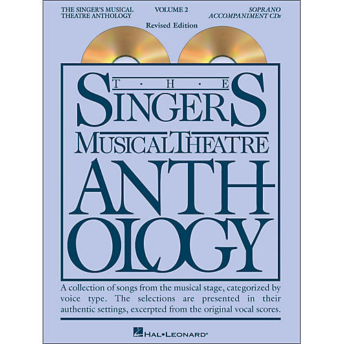 Hal Leonard Singer's Musical Theatre Anthology for Soprano Volume 2 2CD's Accompaniment-thumbnail
