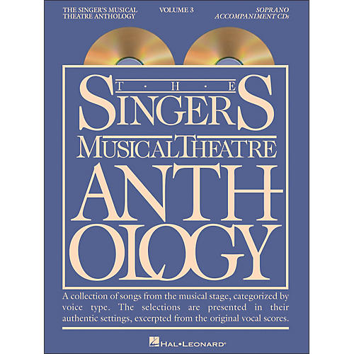 Hal Leonard Singer's Musical Theatre Anthology for Soprano Volume 3 2CD's Accompaniment-thumbnail