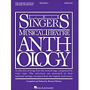 Hal Leonard Singer's Musical Theatre Anthology for Soprano Volume 4