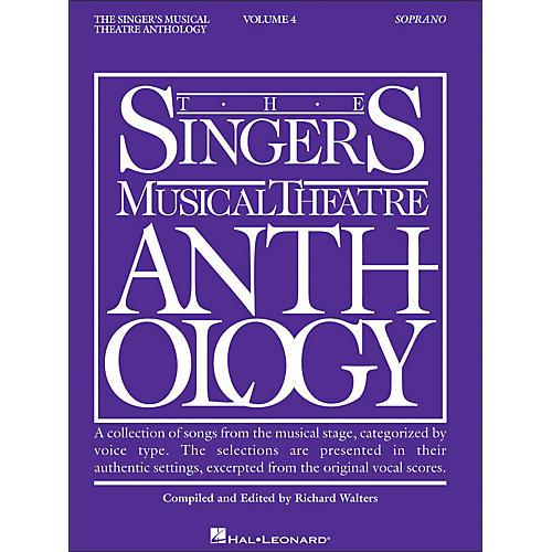 Hal Leonard Singer's Musical Theatre Anthology for Soprano Volume 4-thumbnail