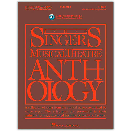 Hal Leonard Singer's Musical Theatre Anthology for Tenor Voice Volume 1 Book/2CD's