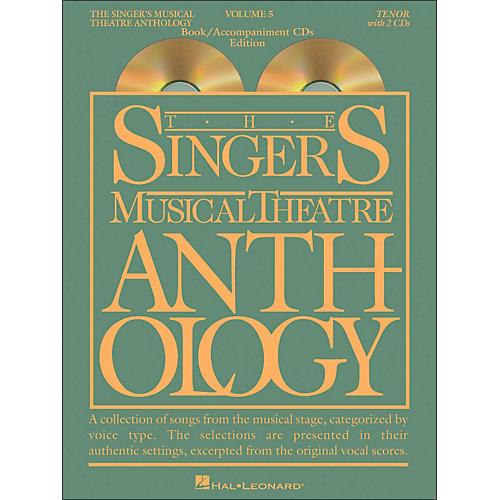 Hal Leonard Singer's Musical Theatre Anthology for Tenor Volume 5 Book/2CD's-thumbnail