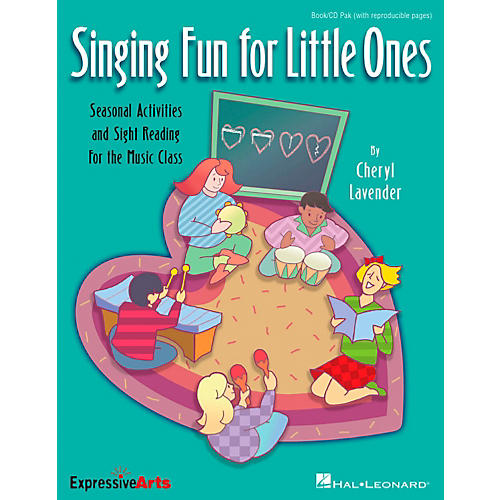 Hal Leonard Singing Fun For Little Ones-Seasonal Activities and Sight-Reading for the Music Class Book/CD