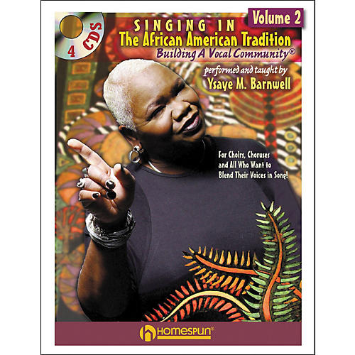 Homespun Singing In The African American Tradition Volume 2 (Book/CD Package)-thumbnail
