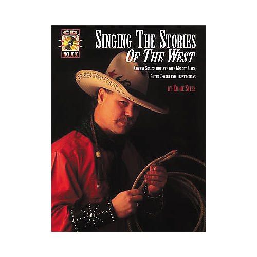 Centerstream Publishing Singing Stories Of The West Guitar Chord Songbook with CD