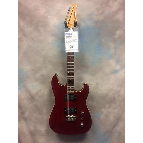 Samick Single Cut Away Solid Body Electric Guitar-thumbnail