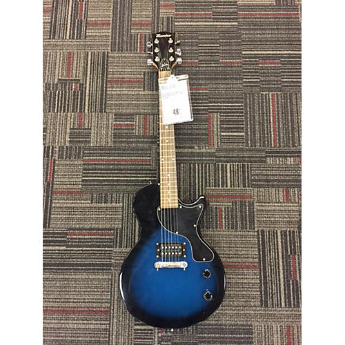 Maestro Single Cut Blue Solid Body Electric Guitar
