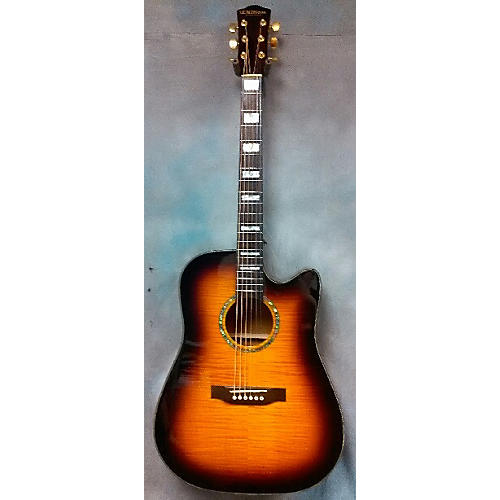 Dillion Single Cutaway Acoustic Electric Guitar