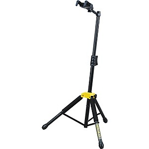 Hercules Stands Single Guitar Stand with Folding Yoke by Hercules Stands