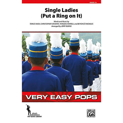 Alfred Single Ladies (Put a Ring on It) Grade 1.5 (Very Easy)-thumbnail