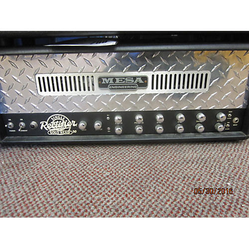 Mesa Boogie Single Rectifier 50W Tube Guitar Amp Head-thumbnail