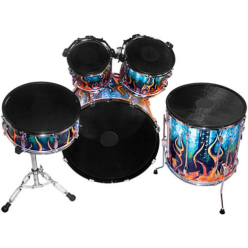Pintech Single Zone Acoustic to Electronic Drum Conversion Kit-thumbnail