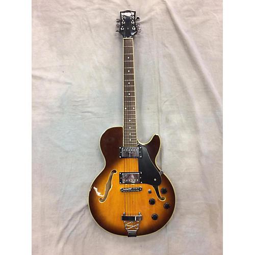 Jay Turser SingleCut Hollow Body Electric Guitar-thumbnail