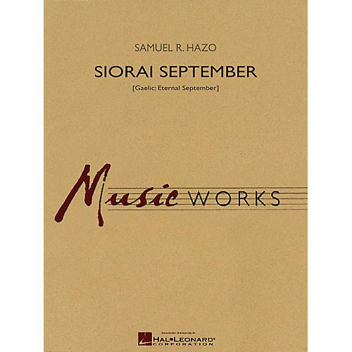 Hal Leonard Siorai September Concert Band Level 4 Composed by Samuel R. Hazo