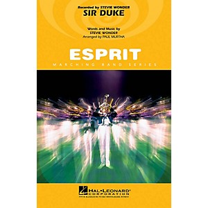 Hal Leonard Sir Duke Mallet Percussion Feature Marching Band Level 3 Arra...