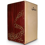 DG De Gregorio Siroco Folding Portable Cajon with Soft Travel Case
