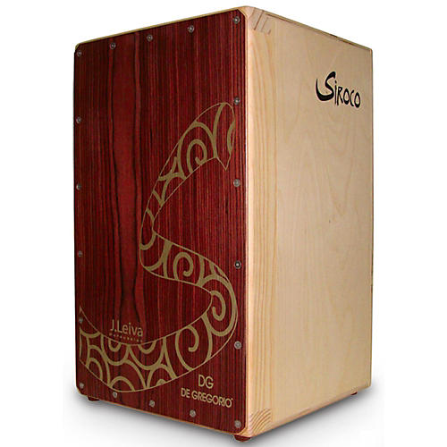DG De Gregorio Siroco Folding Portable Cajon with Soft Travel Case-thumbnail