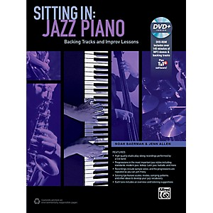 Alfred Sitting In: Jazz Piano Book and DVD-ROM by Alfred